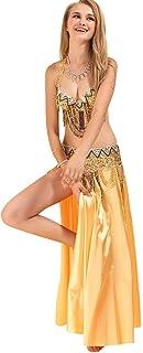 SunWanyi Donna Gonne di Danza del Ventre Set Completi per Donna Prestazioni A Fantasia (Descrizione della Sequenza)
