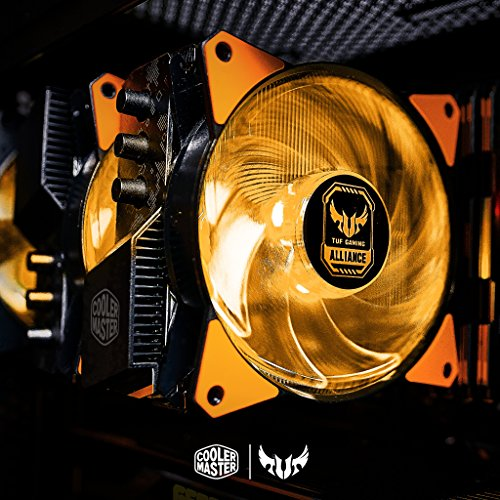 Cooler Master MasterAir MA620P TUF Edition Dual-Tower RGB CPU Air Cooler 6 Heat pipes Dual Master Fan MF120R 120mm RGB Fans (MAP-D6PN-AFNPC-R1) by Cooler Master (Image #9)