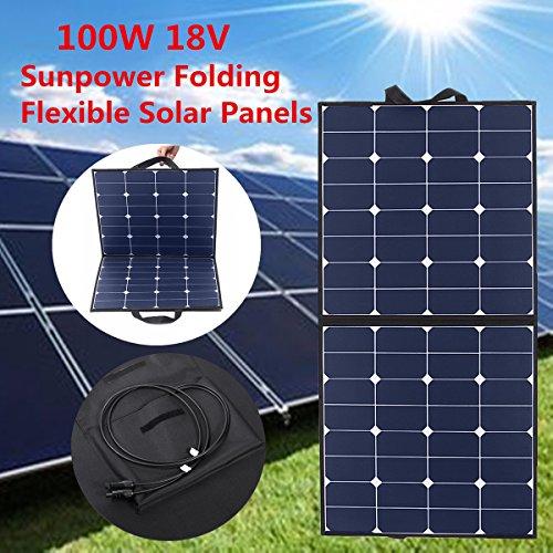 100W Solarpanel MOHOO 5.5A 18V + 50W Solarpanel MOHOO 20A 12V-24V + 20A Solar Panel Regler Laderegler
