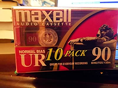 Maxell UR 90 Audio Cassette Tapes by Maxell