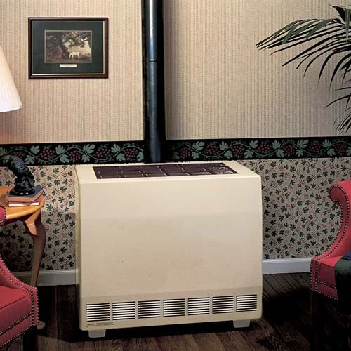 (Empire Closed Front Room Heater W/Blower Liquid Propane 50000 BTU)