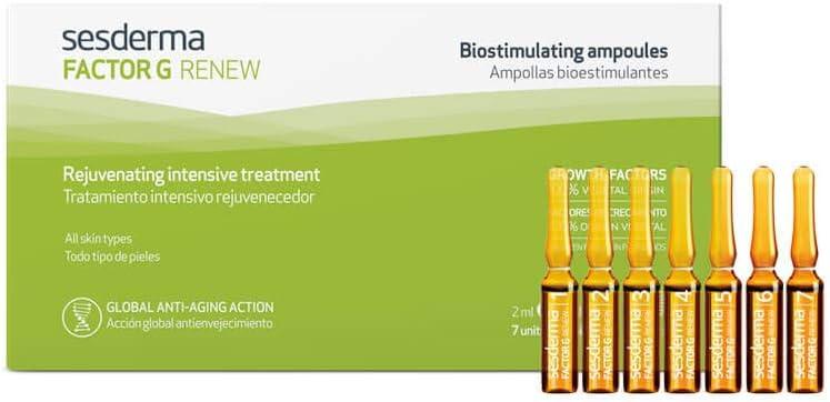 Sesderma Factor G Renew - Ampollas Bioestimulantes con 7 Unidades, 2 ml