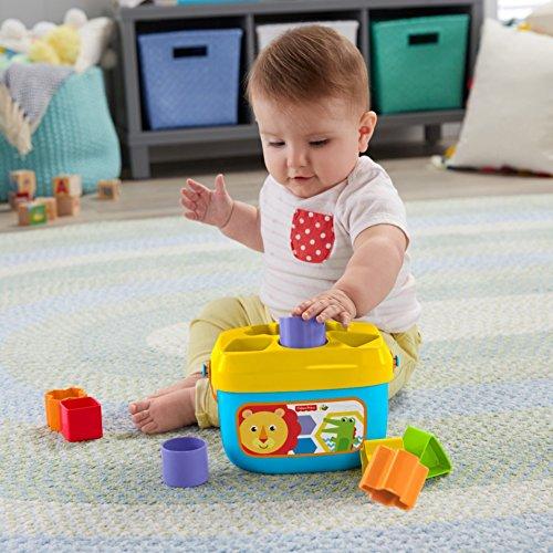 51w3kmKseuL - Fisher-Price Baby's First Blocks Playset