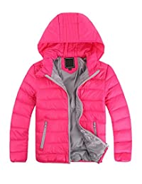 Gxia Children Unisex Discounted Winter Lightweight Hooded Down Jacket