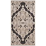 Safavieh Paradise Watercolor Vintage Stone/ Anthracite Viscose Rug (2 3 x 3 11)