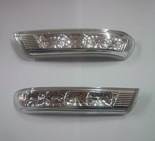 Hyundai Motors Genuine Left Right Side Mirror Signal Lamp Assembly 2-pc Set For 2007 2008 2009 2010 2011 Hyundai Santa ()