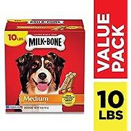 Milk-Bone Original Dog Treats for Medium Dogs, 10 Pounds