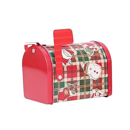 ALIAN Caja de la Galleta de la Caja de la Lata de la Navidad, Bolso