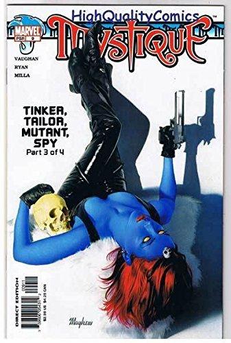 Bronze Mystique Art (MYSTIQUE #9, NM, Dead Drop Gorgeous, Mutant Spy, 2003, more in store)