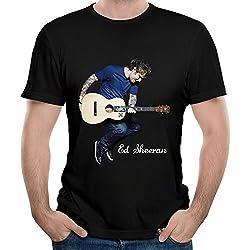 Belva Ed Sheeran Tour Image Unique Men's Short-Sleeved Tshirts