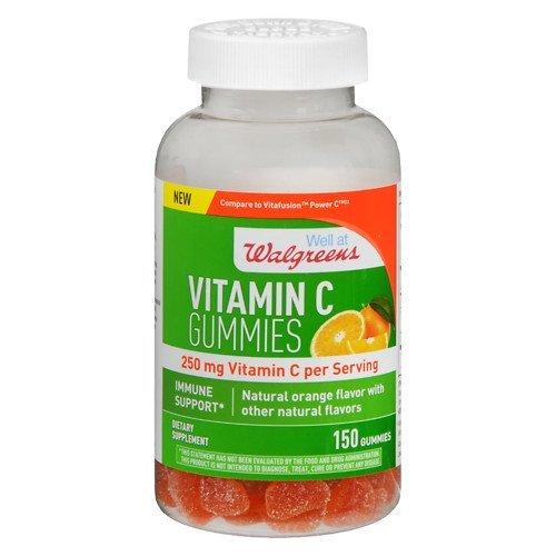 WALGREENS Vitamin C Gummies, 250MG, 150 Gummies