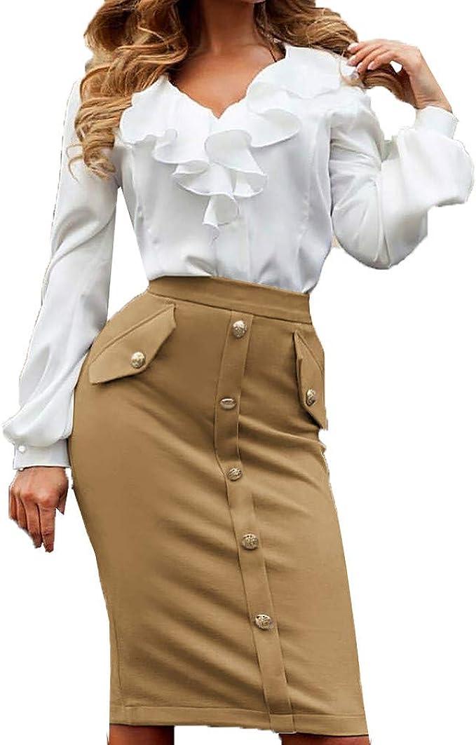 Wiltson Mini Falda Estilo Coreano Negra Paquete Cadera Saia ...