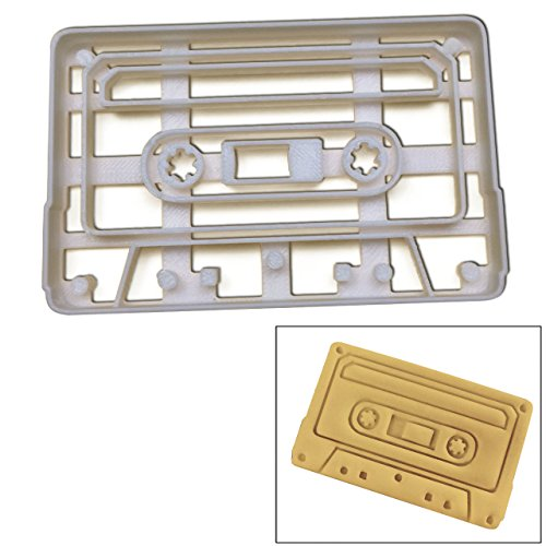 Cassette Tape cookie cutter, Ideal for retro musical ()