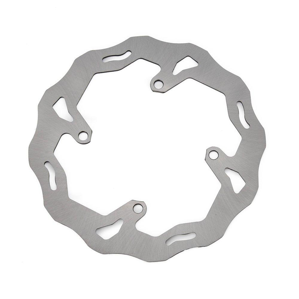 JFG RACING Stainless Steel Rear 240mm Brake Disc Rotor For Suzuki RMZ 250CC 2007-2017 RMZ 450CC 2005-2017 RMX450 2010-2011