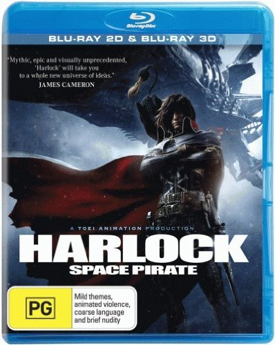 Harlock Space Pirate [3D Blu-ray + Blu-ray] [NON-USA Format / Region B Import - Australia] (3d Blu Ray Space compare prices)