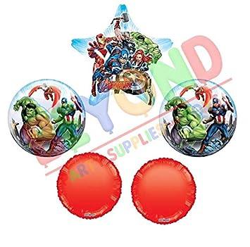 Amazon.com: Marvel Avengers - Ramo de burbujas y superforma ...