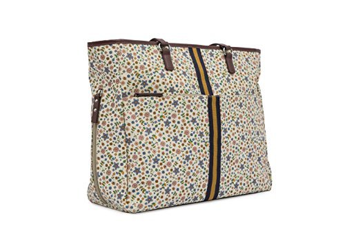 Pink Lining Henrietta Tote Busy Bees Changing Bags by Pink Lining