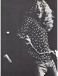 Robert Plant original clipping magazine photo 1pg 8x10 #Q6209