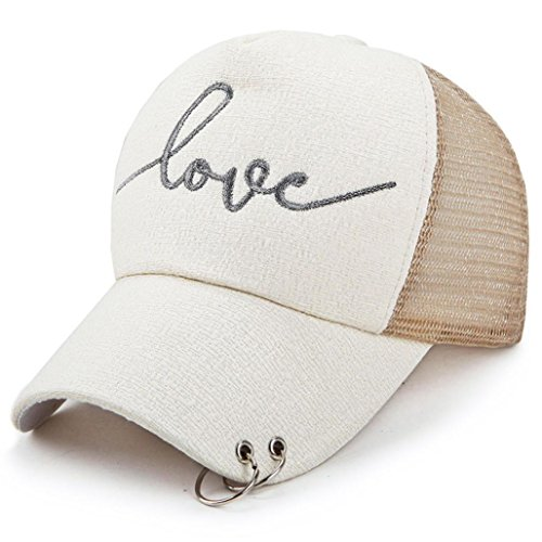 - Boomboom Baseball Caps, Women Men Unisex Mesh Snapback Hip Hop Flat Hats Baseball Caps (Khaki)