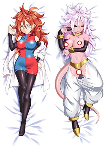 GB Arts DragonBallZ Android 21 UNC Peach Skin 150cm x 50cm Pillowcase