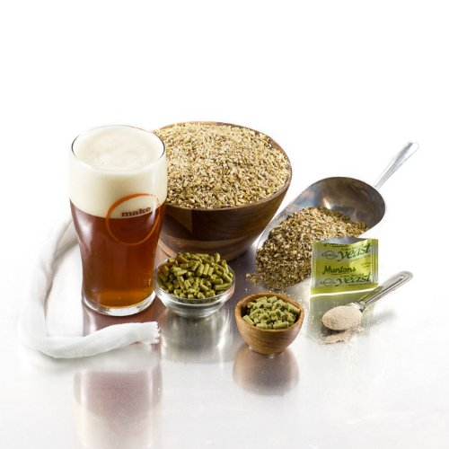 2-Pack 1 Gallon Micro Bru All Grain Beer Recipe Kits - Smooth Flavors - Triple A Amber Ale and Pride of Dublin Stout Beer Recipe Kits - All Grain for 1 Gallon of Homebrew Beer - Smooth Grain