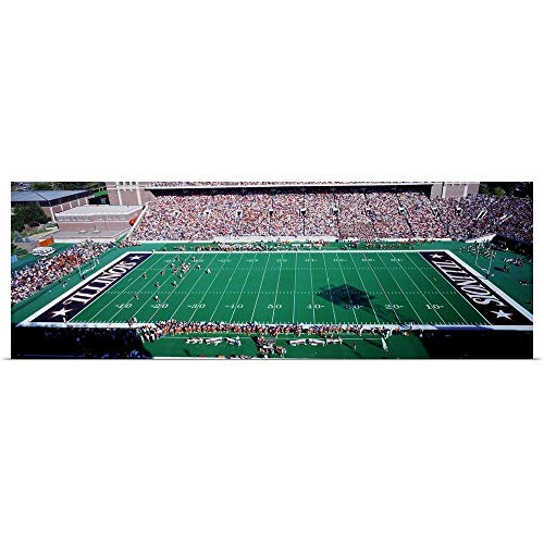 - GREATBIGCANVAS Poster Print Entitled Illinois, Champaign, Memorial Stadium by 90
