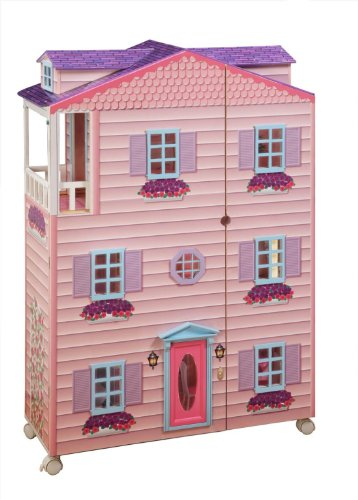Teamson New York Mansion Doll House with Furniture by Teamson Design Corp