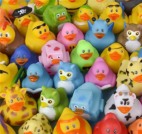 Rhode Island Novelty Assorted Rubber Ducks | Lot of 50