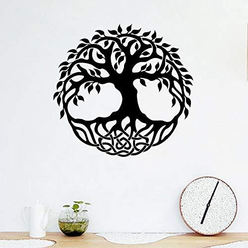 Abstracto significativo árbol de vinilo etiqueta de la pared arte ...