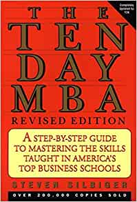 10 day mba book review