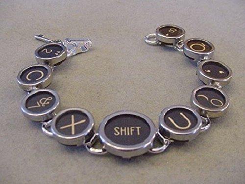 Vintage typewriter key necklace — pic 12