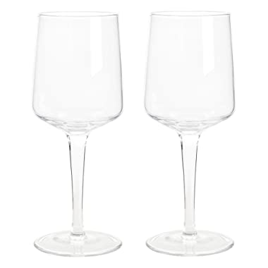 Denby Natural Canvas Red Wine Glasses, Clear, Pack of 2