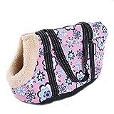 EBRICKON Pet Travel Carrier Tote Bag Carrier Soft Travel Bag Shoulder Handbag Small Dog/Cat