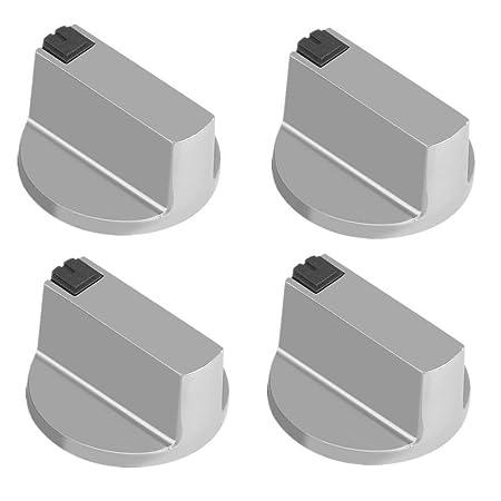 sito affidabile shopping prezzi economici 4Pz 6mm Manopole per fornelli a gas Universali In lega di zinco ...