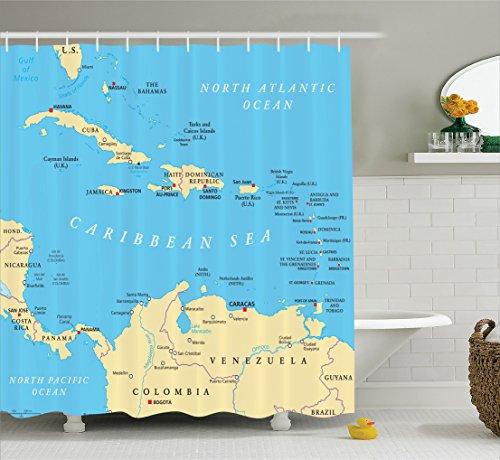 Wanderlust Ambesonne Caribbean Political Accessories