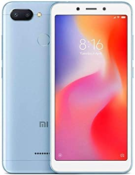 Xiaomi Redmi 6 LTE 64GB 3GB RAM Dual Blue: Xiaomi: Amazon.es ...
