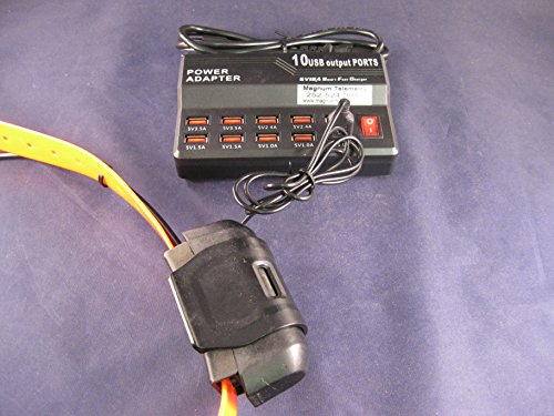 Pana USB Charger for Garmin GPS collars DC-40-Charges up ...