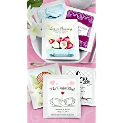 Personalized Tea Favors - Set of 30 (Wedding)