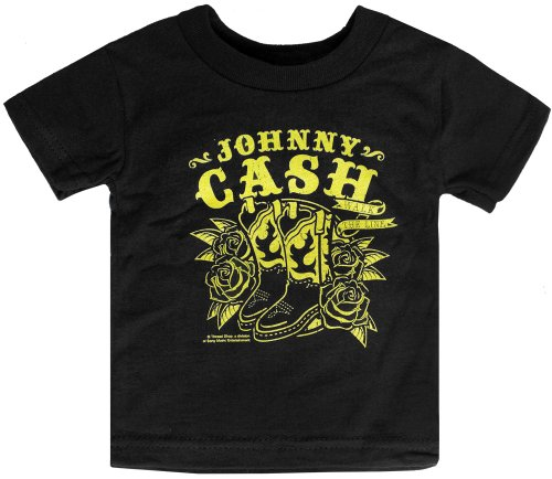 Sourpuss Johnny Cash Walk the Line Kids Tee 6M