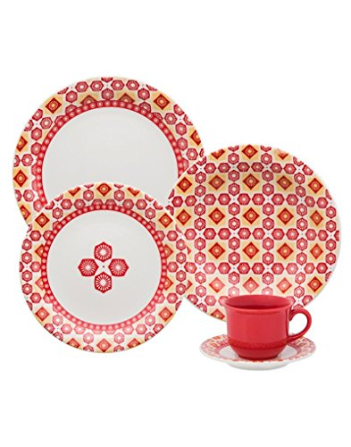 Oxford 7891361969616 12 Piece Daily Dinnerware Set, Cocina