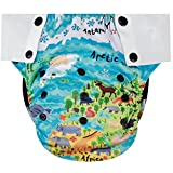 Best Blueberry Bottom Cloth Diaper Covers - HappyEndings Big Kid Pull On Reusable Cloth Diapers Review