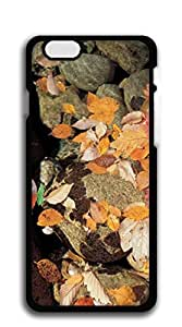 Custom Cover Case with Hard Shell Protection iphone 6 case for teen girls - Red maple leaves