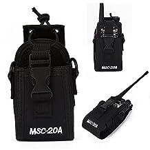 MSC Multi-function Carry Case Holder For Two Way Radio Kenwood Baofeng Yaesu Motorola Two Way Radio Walkie Talkie (20A)