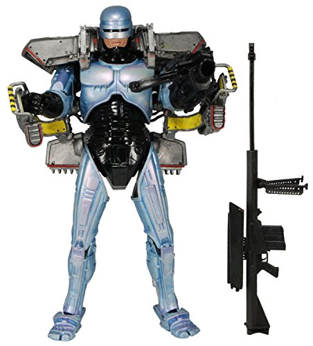 "NECA Robocop - 7"" Ultra Delux Figure with Jetpack and Assault Cannon"