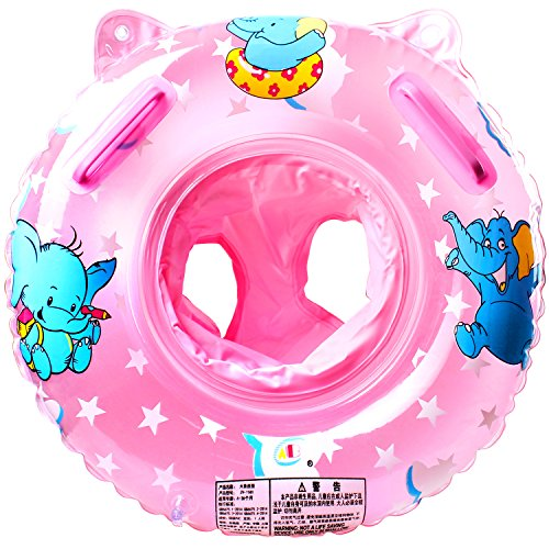 Load Leg - StillCool Baby Swimming Float, Inflatable Swimming Ring with Float Seat for 6 Months-6 Years Children (Pink)