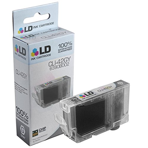 LD © Compatible Replacement for Canon 6390B002 / CLI-42GY Gray Inkjet Cartridge for use in Canon PIXMA PRO-100 Printer