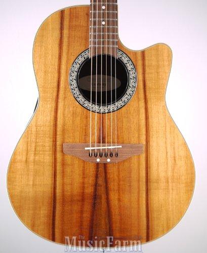Ovation ck047 Celebrity acústica guitarra eléctrica (Figured KOA Top): Amazon.es: Instrumentos musicales