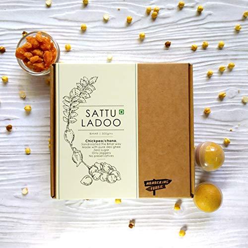 Sattu (Chickpea) Ladoo 500gm (Indian Diwali Sweet)
