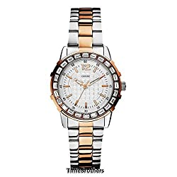 Guess Women's U0018L3 Dazzling Sport Petite Two-Tone Stainless Steel Watch
