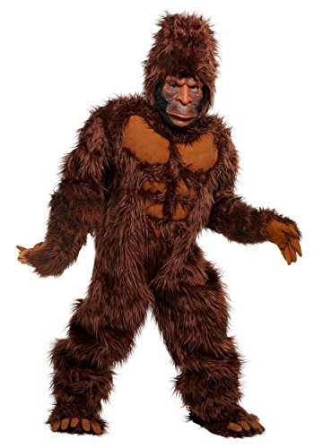 Bigfoot Boys Costume - L Brown ()